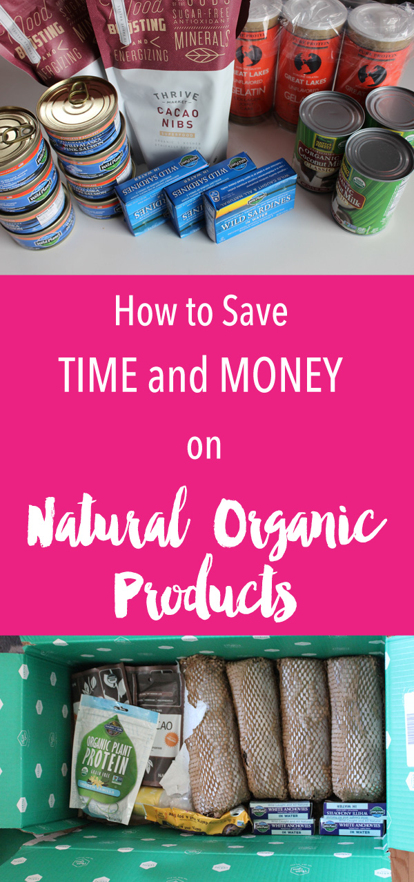 The easiest way to save money online shopping. Thrive Market makes it super convenient for us as well saving us some money. Win-Win. We love that they are constantly adding in new products to pick from and love the quality of products they do have on there. Join us on Thrive Market and never pay full retail again on natural products you need this plus it saves time ….