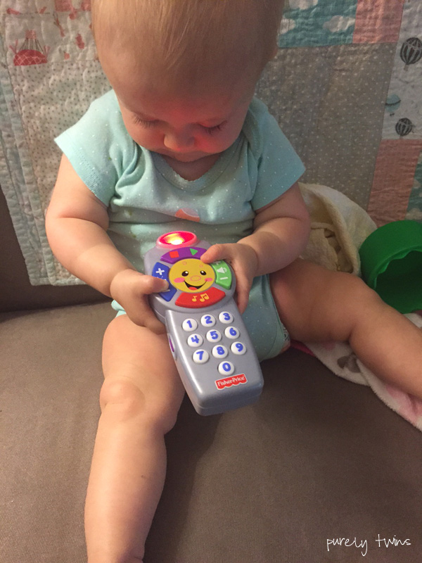 madison-playing-with-toy-clicker