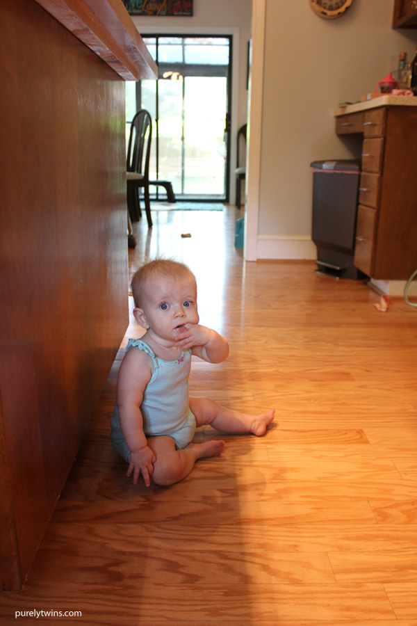 Madison-10-months-old-and-teething-getting-her-first-few-teeth-all-at-once-purelytwins