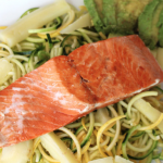 Easy. Healthy. Real food dinner that serves 2 with Sizzlefish salmon.