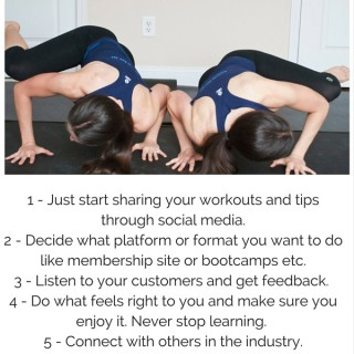 Tips if you want to start an online fitness business