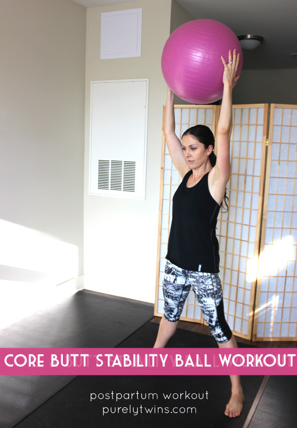 Post partum diastasis recti core and butt workout. Get your body back post baby.