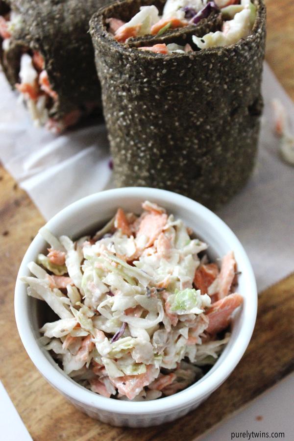 Paleo dairy-free coleslaw recipe