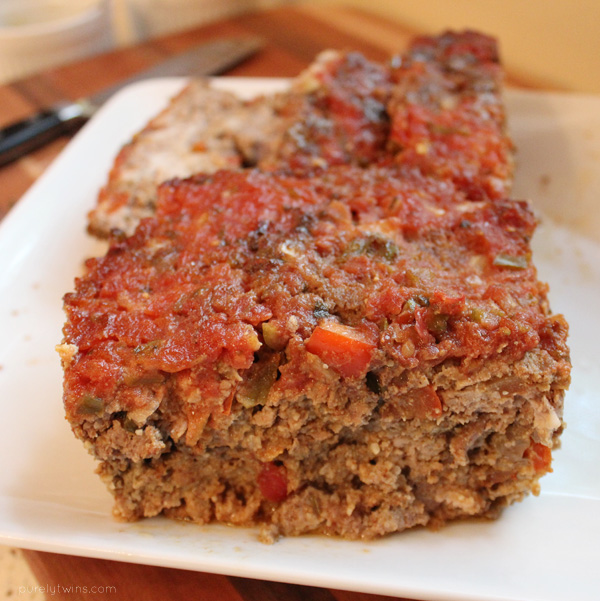 Paleo meatloaf from the paleo cookbook