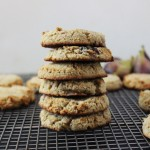 Soft lemon fig grain-free cookies