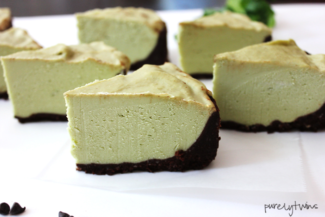 grasshopper cheesecake pie