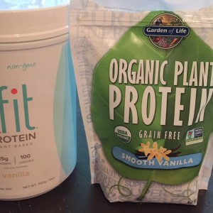 pea protein powders
