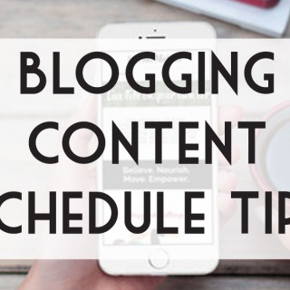 How to create a blogging and periscope content schedule