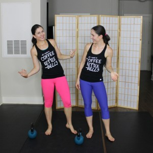Looking for a fun and quick home workout that uses the kettlebells? Love coffee and kettlebells. You will love this workout plus these workout tanks from @rawthreads.