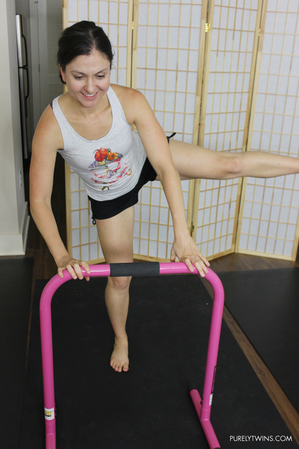 Equalizer workout. Barrie inspired home workout for women.