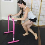 Barre workout using an equalizer. 10 minute real time workout.