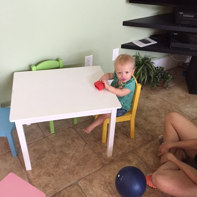 Madison-sitting-at-her-mini-kids-table-purelytwins