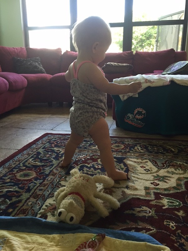 Madison-standing-by-herself-one-years-old