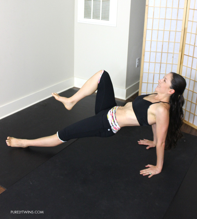 Want to target your lower abs and obliques try minute workout