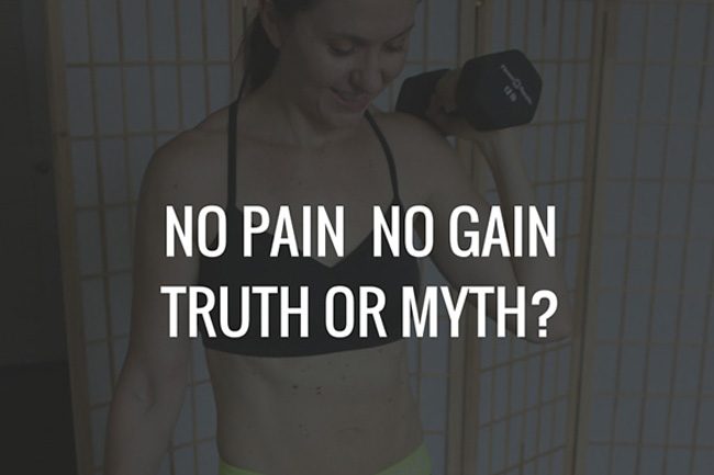 Do you have to be sore after a workout to see results?