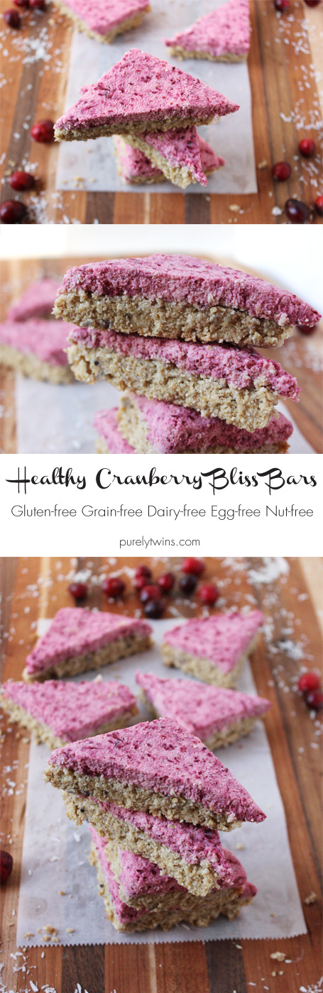 Cranberry Bliss Cookies -- inspired by the popular treat from Starbucks. A soft blondie bar with cranberry coconut butter. This is definitely a must make recipe!