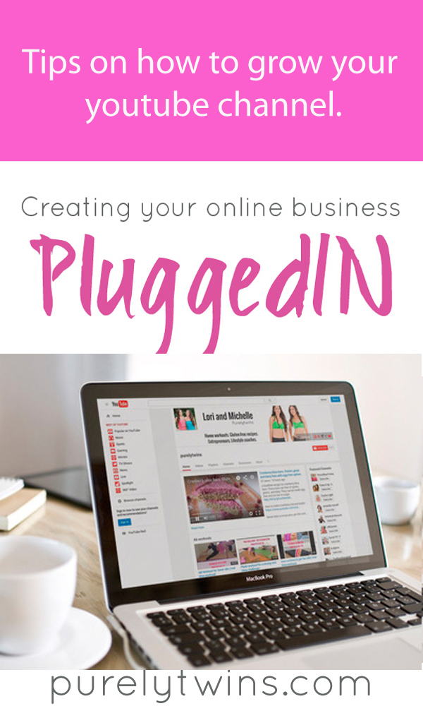 Tips on how to grow youtube channel. Tips on how to get started with youtube. || www.purelytwins.com