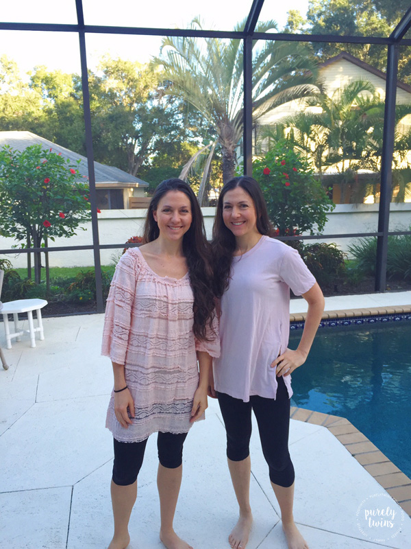 Twins Thanksgiving Holiday vacation in south Florida.