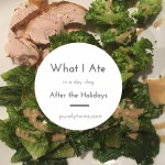 What we ate after traveling for the holiday {video}
