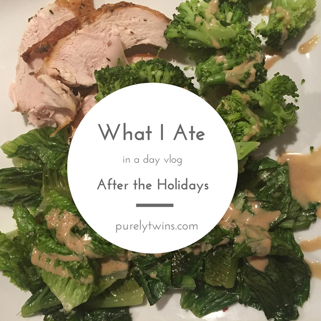 How to get back on track with your fitness and diet after having fun over the holidays. Come see what we ate and how we get back on track.