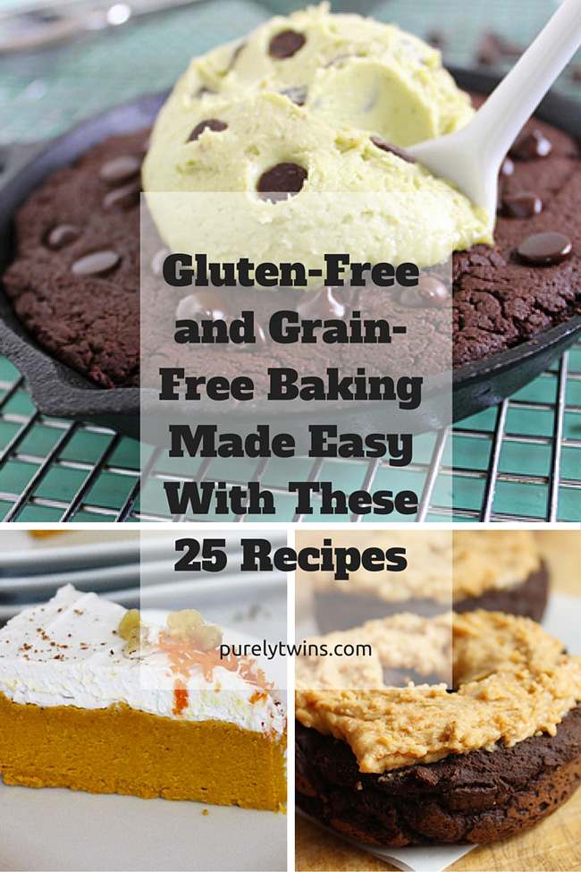 Gluten-free and grain-free baking (along with some egg-free) made super EASY and healthy with these 25 recipes. Plus recipe video on how to make each one! Wow your loved ones with these delicious recipes.