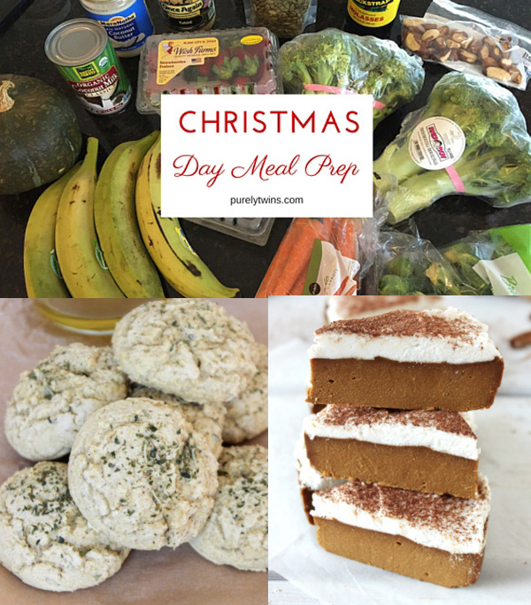 Christmas day meal prep -sharing what is on my Christmas day menu from breakfast to the main meal. If you need some ideas on what to make I hope my menu inspires you in the kitchen. Join me and making Christmas dinner ahead of time. The perfect solution to make your Christmas day less stressful.