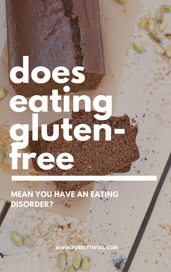 Does eating gluten-free mean you have an eating disorder? We share our personal thoughts on this matter via video that we did live on periscope. This is a very personal topic as we both suffered from binge eating,over exercising and trying to be perfectly healthy. So where do we stand now?