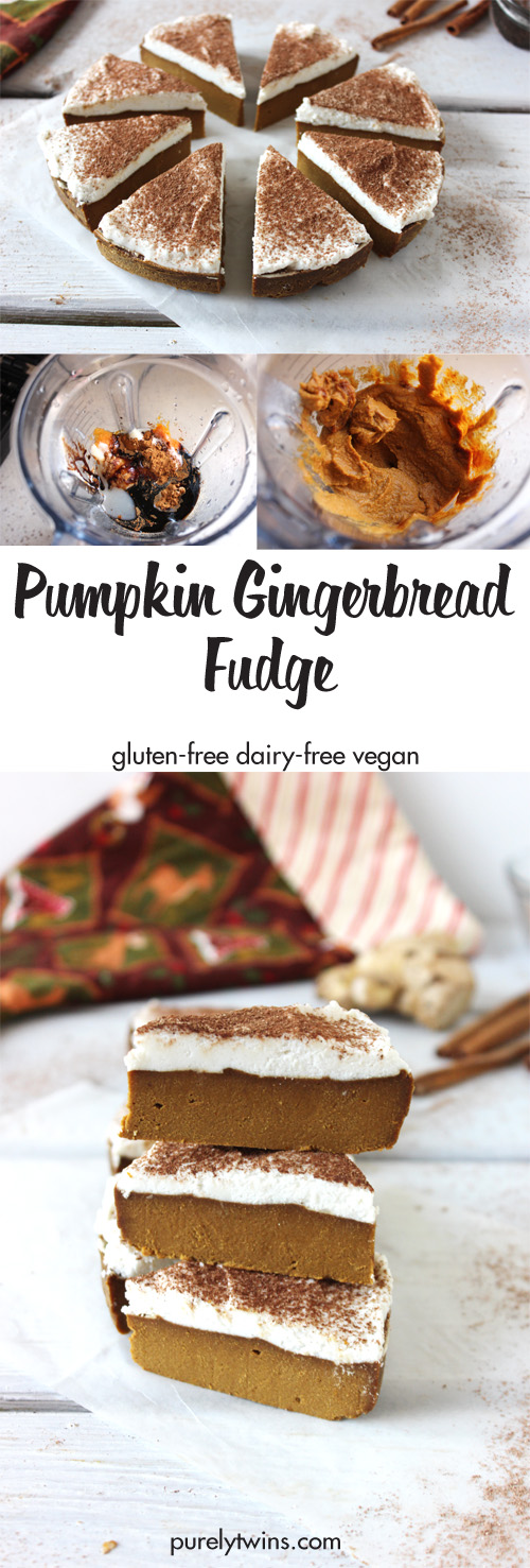 Not your average fudge recipe. It's better! This pumpkin gingerbread fudge recipe has become our favorite of all time. It is bursting with flavor and healthy fats! Made in minutes.