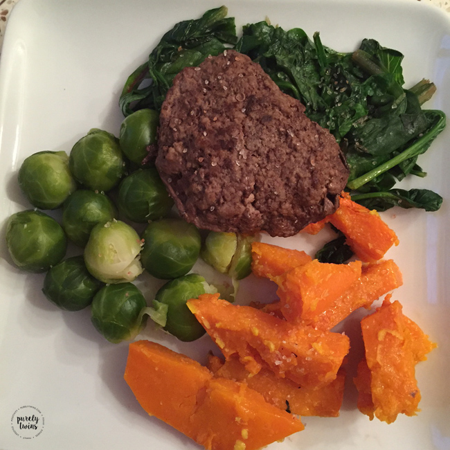 What a paleo dinner looks like? Real food doesn't have to be boring or carb free.