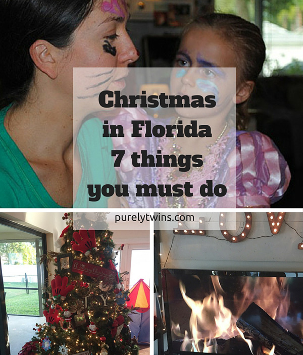Having Christmas in Florida? You must do these 7 things to have a happy, less stressed holiday. #5 is priceless!.