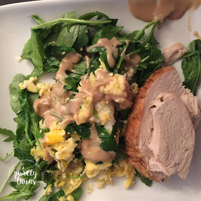turkey-dinner-with-eggs-and-tahini-healthy-real-foods-for-healthy-gut
