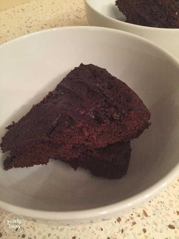 Paleo plantain brownies