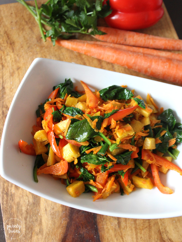 Sauteed Vegetables - The easiest, simplest, and BEST way to eat vegetables - perfectly tender and packed with so much flavor. A real food healthy side dish to serve with any dinner.