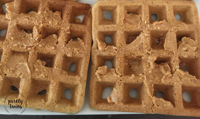 Best waffles. Grain free plantain waffles made from 3 ingredients.