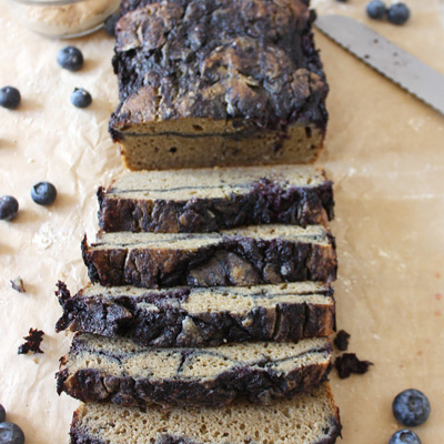 Peanut butter and jelly protein quick bread
