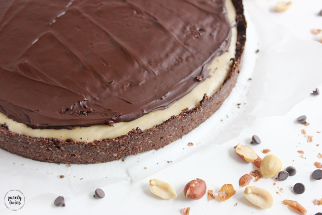 No Bake Reese's Chocolate Peanut Butter Cheesecake