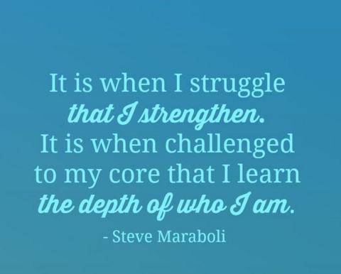 struggle as strength