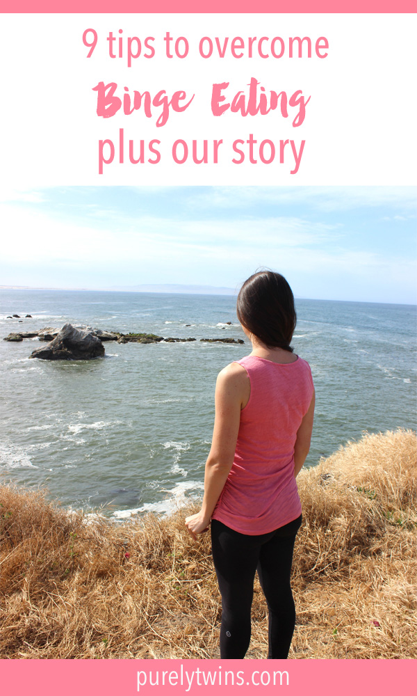Sharing our binge eating story and 9 tips to help overcome it as they helped us. We have a much more positive relationship with our bodies and food. We want the same for you!