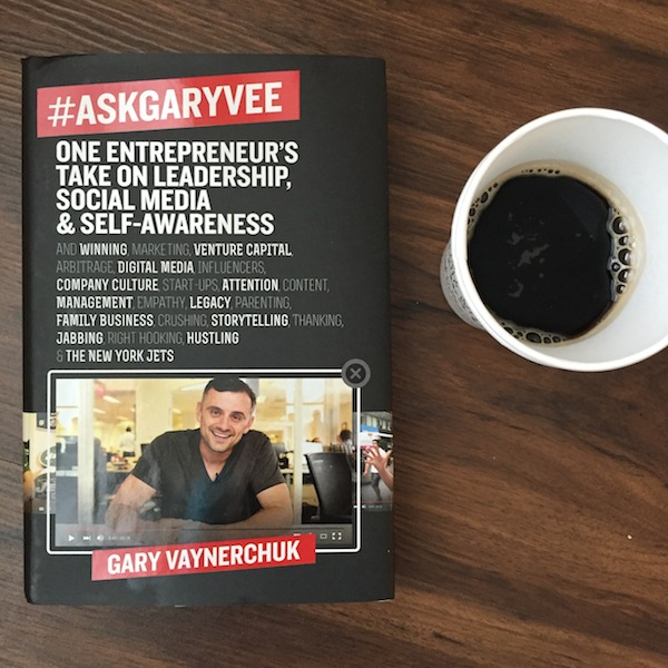 #askgaryvee book. Gary vaynerchuk business and social media book.