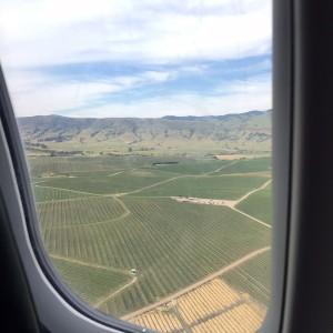 We landed in California