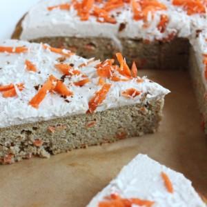 8 Ingredient Carrot Cake Recipe (Low Sugar)