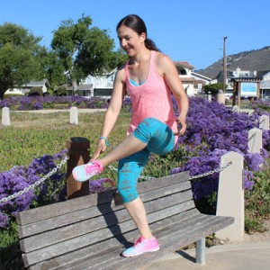 10 minutes to stronger, leaner legs
