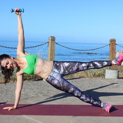 Tone and tighten your upper body and core in this plank workout