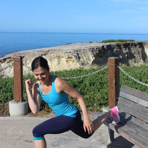Total body tone up bench workout