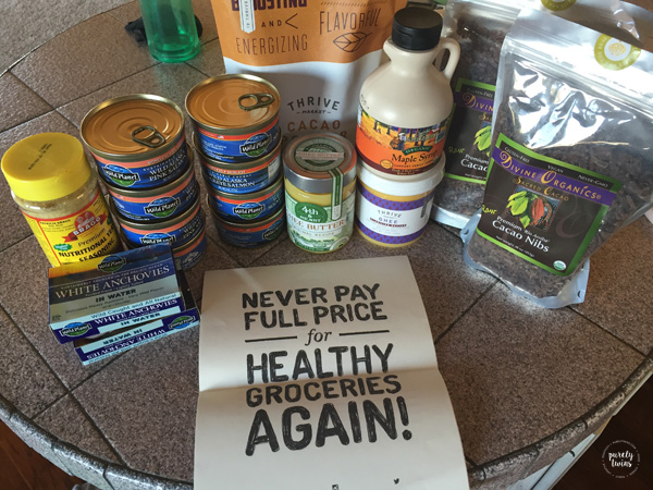 Healthy organic foods from Thrive Market. A great way to save money on organic foods.