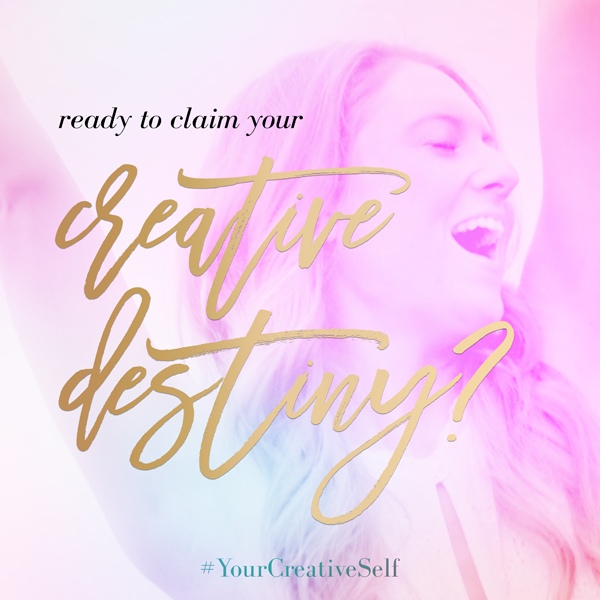 Ready to change your life? Ready to start your soul journey to self love and creativity? JOIN US for Your Creative Self, a 28-day meditation experience designed to awaken your creativity and give you the confidence to share your creative gifts with the world. We are super pumped about this program Heather Waxman put together and we would love for you to do it with us.