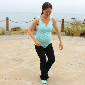 Pregnancy cardio workout routine that's safe for diastasis and all trimesters