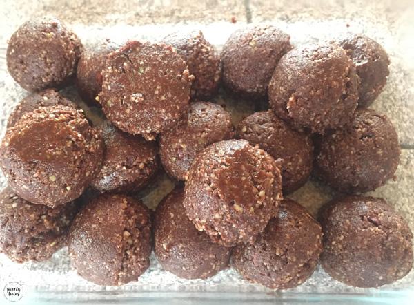 Brazil nut balls