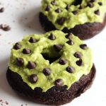 Baked Chocolate Mint Brownie Protein Donuts
