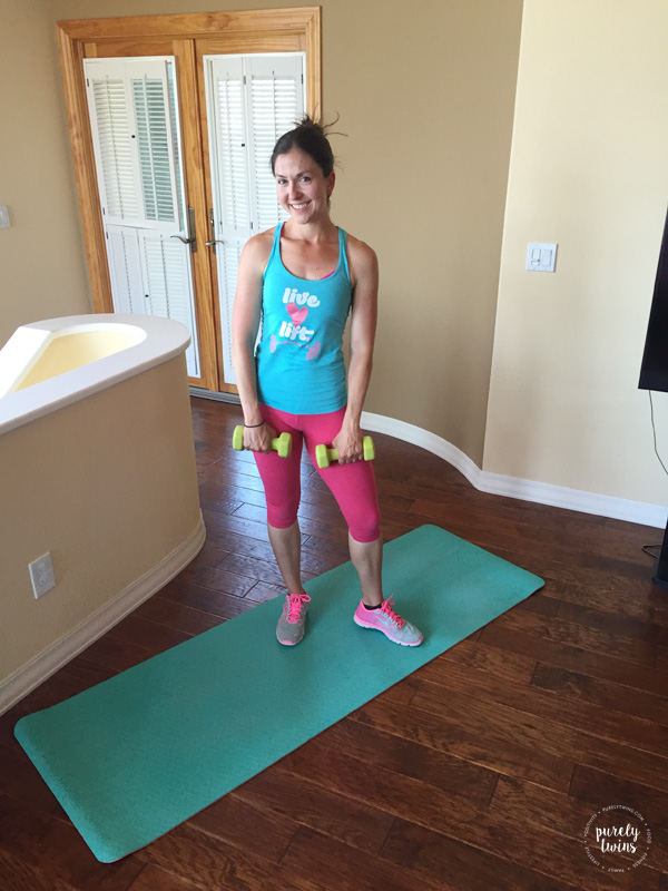 Getting fit at home with hiit bootcamp